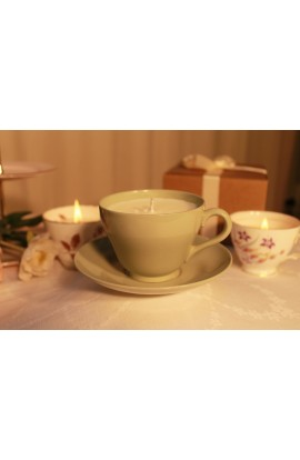 Spode Classic Green Vintage Teacup Candle